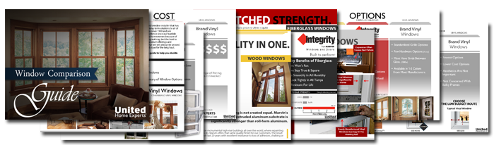 Window Comparison Guide - Your Marvin Windows by United Home